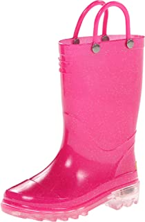 FREE Shipping on eligible orders. Western Chief Girls  Waterproof Rain Boots  That Light up with Each Step dae3e9aaf002