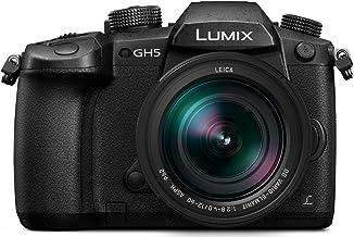 Panasonic Lumix DMC-GH5 - Cámara Digital de 20,3 MP, 5184 x 3888 Píxeles, Live Mos, Full HD, Pantalla táctil, Leica 12-60mm F2.8-F4.0 MILC, Negro - [Versión importada]