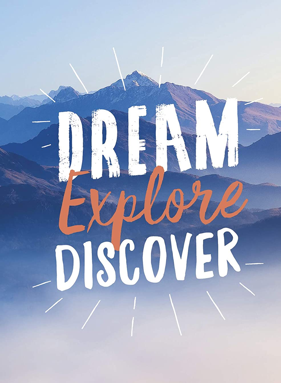 モッキンバード方言潜むDream. Explore. Discover.: Inspiring Quotes to Spark Your Wanderlust (English Edition)