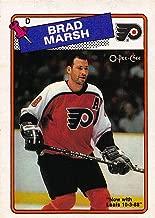 1988-89 O-Pee-Chee #64 Brad Marsh NM-MT Hockey NHL Flyers