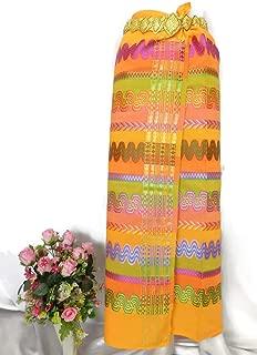 Myanmar Traditional Design Fashion Fabric for Clothing Dress Long longyi Skirt M10