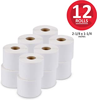 enKo (12 Rolls, 12,000 Labels) 2-1/4 x 1-1/4