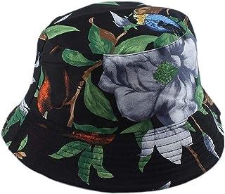 Achket القبعات دلو النساء الرجال دلو قبعة الحب الطبيعة الطيور شجرة طباعة دلو قبعة الهيب هوب شارع بوب قبعة عكسية الصياد قبعة