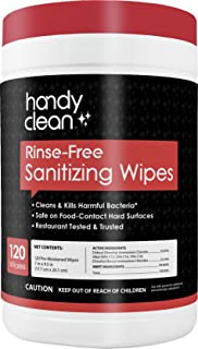 sanitizing surface wipes