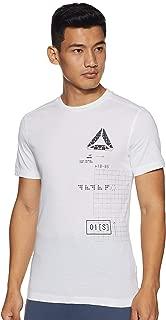 Reebok Men's Plain Regular Fit T-Shirt