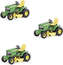 John Deere Lawn Tractor 1/32 Scale, Green, Yellow
