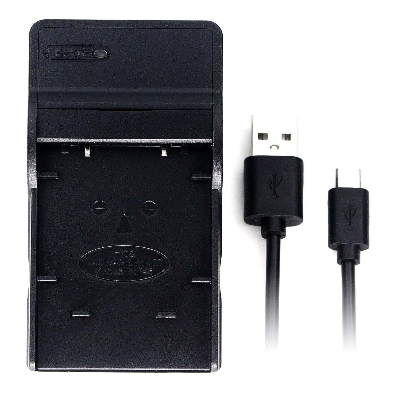 LI-40B Ultra Slim USB Charger for Olympus D-720, FE-230, FE-340, FE-280, FE-20, Stylus 710, 790SW, 770SW, 7010, 760, 720SW, VR-320, VR-310, X-935, X-905 Digital Camera and More