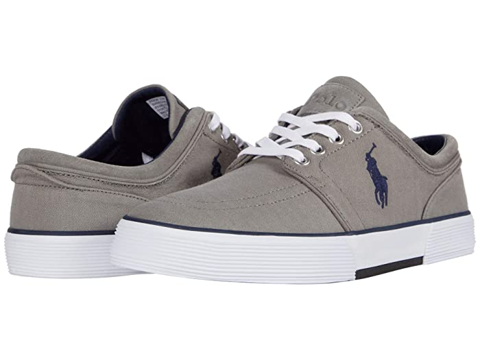 Polo Ralph Lauren  Faxon Low (Grey Herringbone) Mens Shoes