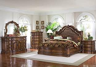 Pulaski San Mateo 5 Piece Platform Bedroom Set - (King)