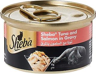 Sheba Tuna with Salmon Cat Food, 24 x 85g