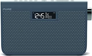 Pure One Maxi Series 3s Stereo Portable DAB/DAB+ and FM Radio, with a Modern Style, Slate Blue