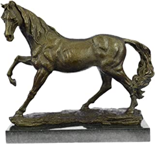 bronze arabian horse sculpture