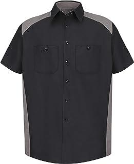 Red Kap mens Red Kap® Men's Short Sleeve Motorsports Shirt Shirt (pack of 1)