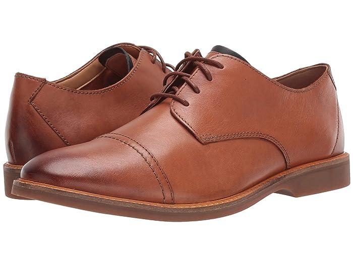 Clarks  Atticus Cap (Tan Leather) Mens Shoes