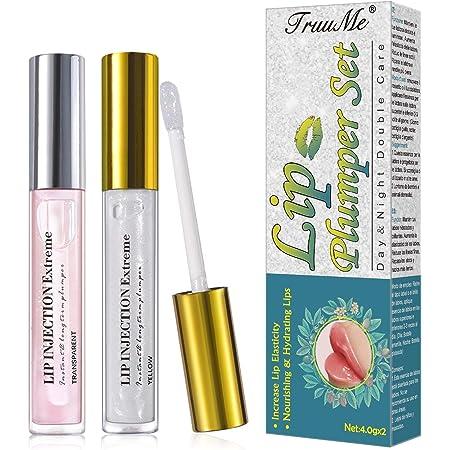 Lip Enhancer, Plumping Lip Balm, Lip Balm, Balsamo Labbra, Lipstick, Labbra Sexy Idratanti e Idratate, Lascia che le Labbra Sembrino più Piene e Piene