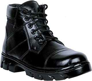 SSG Men's Leather Commando Boots