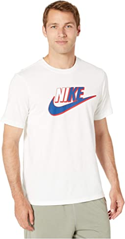 733857fc Nike nsw tee alt hem futura t shirt, Clothing | Shipped Free at Zappos
