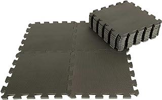 IncStores 泡沫设备垫 12 片(30.48x30.48x1.27cm)12 Sqft 拼图软瓷砖