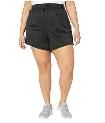 Nike Plus Size Dry Shorts Attack 2.0 TR 5 (Black/Particle Grey) Women