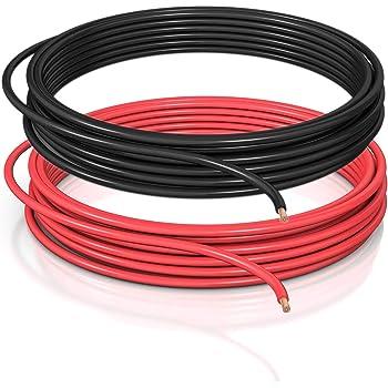 10m C/âble multiconducteur pour lautomobile//remorque 5m 5m m/ètre, 2 fils: 2 x 0.75 mm/² c/âble cylindrique 20m ou 50m choix: