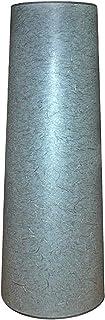 Abażur 360X270X960 mm średnica dolna x średnica górna x wysokość   Stożek   Papier ryżowy szary   Pod oprawkę E27   Do lam...