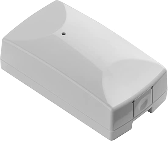 Ecolink Z-Wave Plus Gold Plated Reliability Garage Door Tilt Sensor, White