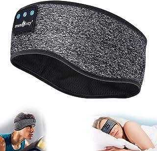 MUSICOZY Sleep Headphones Bluetooth Sports Headband, Wireless Music Headband Headphones, IPX6 Waterproof Headphones with M...