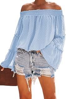 Eternatastic Women's Lace Off Shoulder Lingerie Babydoll Sleepwear