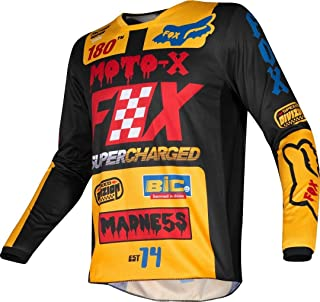 Fox Racing 2019 Peewee 180 Jersey - Czar (Medium) (Black/Yellow)