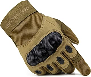 FREE SOLDIER Outdoor Full Finger Half Finger Safety Heavy Duty Work Gardening Cycling Gloves
