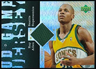 RAY ALLEN 2006-07 UPPER DECK RESERVE GAME JERSEY #UDRA *MIAMI HEAT*