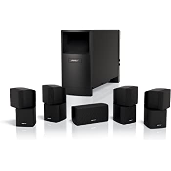 Bose Acoustimass 10 Series IV Home Entertainment Speaker System (Black)