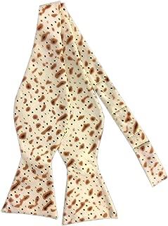 Jacob Alexander Men's Matza Cracker Passover Adjustable Self-Tie Bow Tie