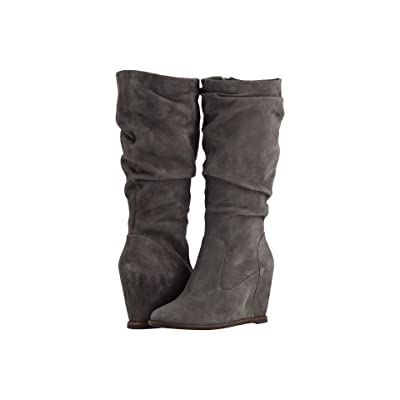 Johnston & Murphy Nicole (Gray Suede) Women