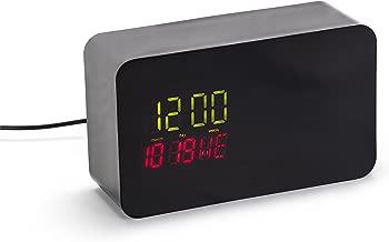 Nest Cam Indoor Clock Case - Hidden Dropcam Pro Enclosure (Black)