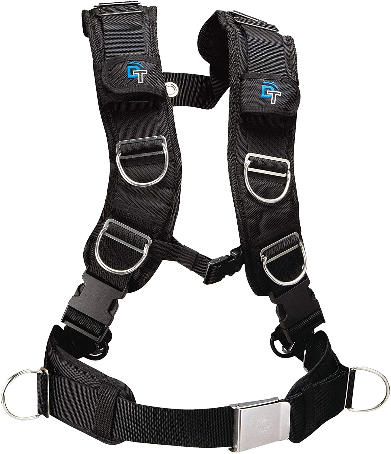 Dolphin Tech By IST Deluxe Strap Tech BCD Padded Harness Webbing