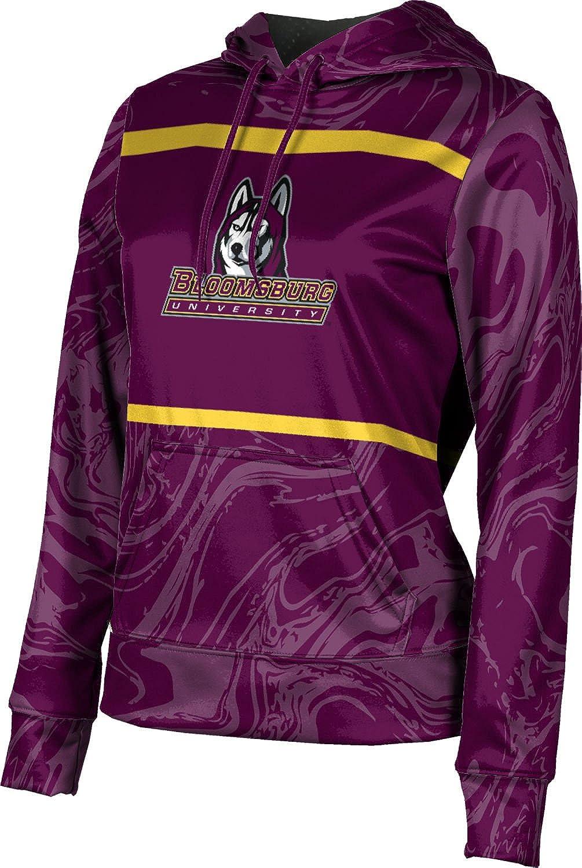 ProSphere Bloomsburg University Girls' Pullover Hoodie, School Spirit Sweatshirt (Ripple)