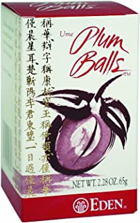 Eden Plum Balls, 2.28-Ounce Box