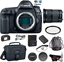 Canon EOS 5D Mark IV Full Frame DSLR Camera Body - Bundle with Canon EF 24-105mm f/3.5-5.6 is STM Lens + Carrying Bag + Cleaning Kit (International Version)
