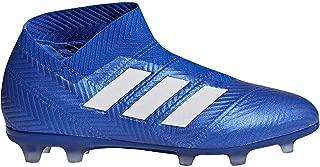 adidas Nemeziz 18+ FG Cleat Junior's Soccer 5.5 Football Blue-White