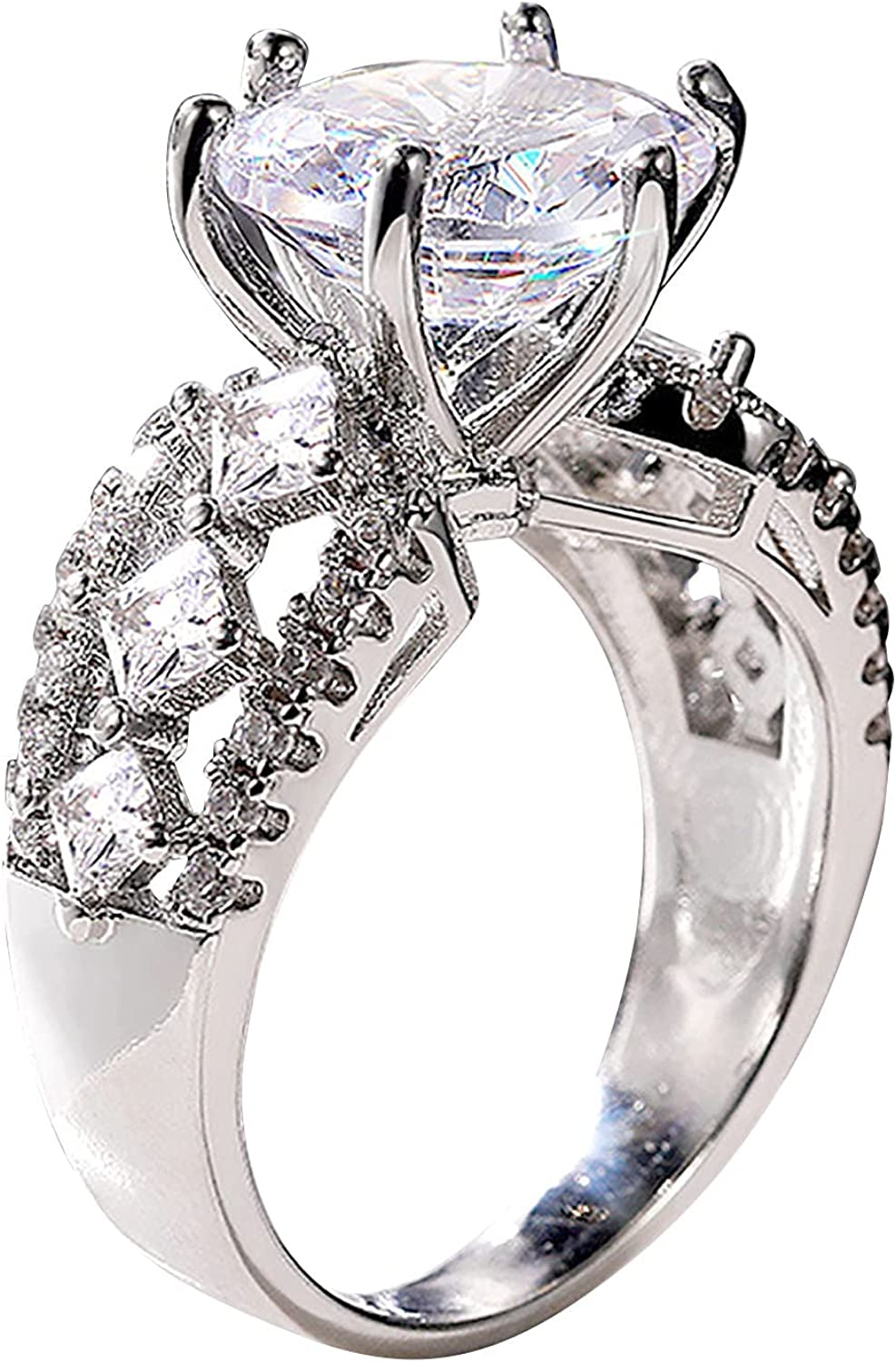 Max 78% OFF Sterling Silver Wedding Band Teardrop Rings Bridal Cubic Easy-to-use Zi Sets
