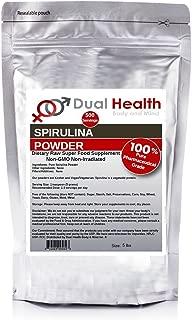 Pure Spirulina Powder (5 lbs) Protein Superfood Bulk Supplements