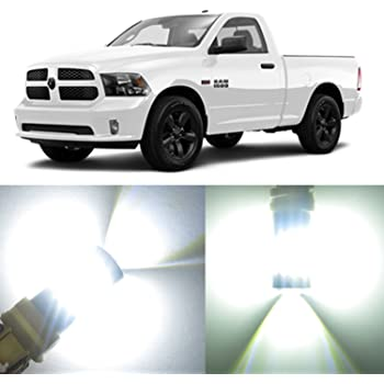 Amazon Com Alla Lighting 2x Super Bright White Premium T20 7440 Led Bulbs For Back Up Reverse Light Lamps For 2013 2014 2015 2016 2017 Dodge Ram 1500 2500 3500 W Projector Type Headlamp Automotive