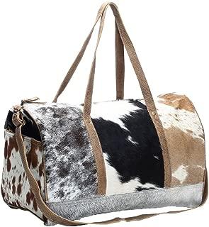 Myra Bag Cowhide & Leather Travel Bag S-1159