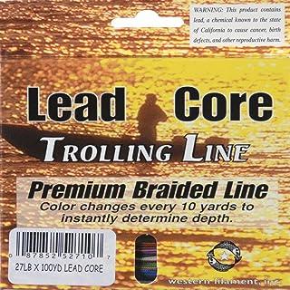 WESTERN FILAMENT TUF-LINE MICROLEAD LEAD CORE TROLLING LINE 15# TEST 100 YDS