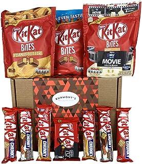 Cesta Kit Kat Regalo Con La Selección Definitiva De Chocolate - Cesta Exclusiva Para Burmonts