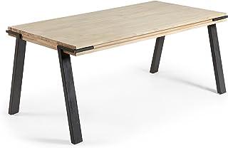 LF - Table de salle à manger Disset 160x90 plateau accacia