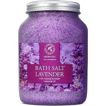Sales de baño aromaterapia eucalipto - Fabricado en el Reino Unido (450 g) Sal de baño natural del Mar muerto para mujeres, hombres, niñas y niñosDesintoxicación de lujo con aceites esenciales.: Amazon.es: