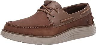 Men's Status 2.0-Former Moc Toe Leather Lace Up Boat Shoe