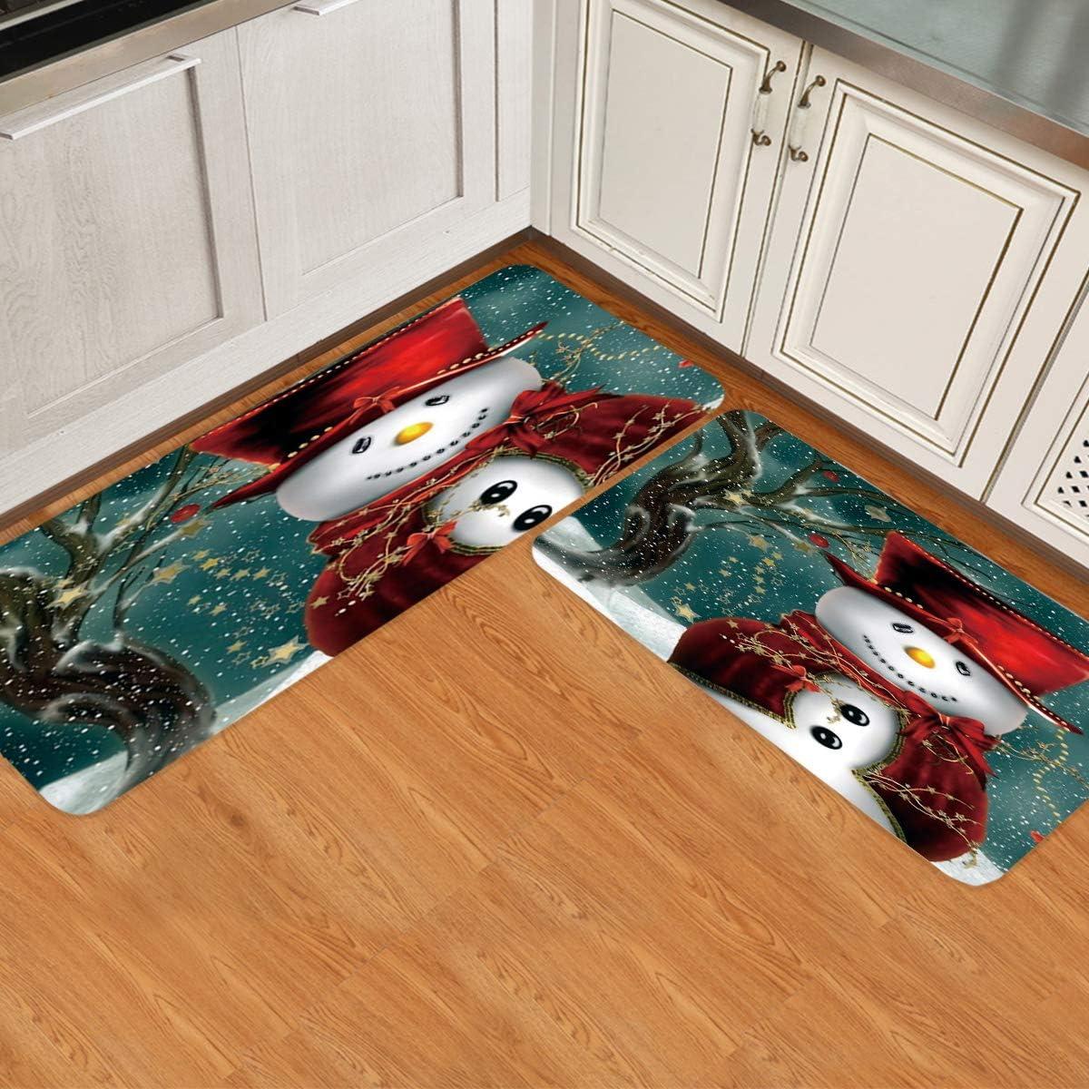 Limited price sale Prime Leader 2 Piece Non-Slip Kitchen Runner Rug 35% OFF Mat Doormat Set